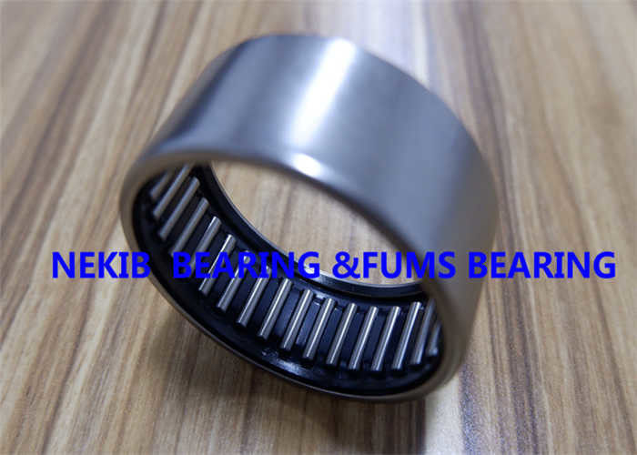 Low Noise Drawn Cup Needle Roller Bearings GCr15 Material With Seal HK1416 2RS