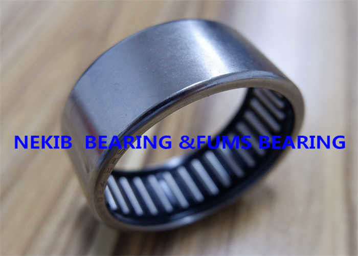 Steel / Brass Cage Drawn Cup Needle Roller Bearings With Seal HK3518 RS/2RS